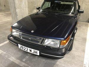 1992 Classic SAAB 900 convertible LPT