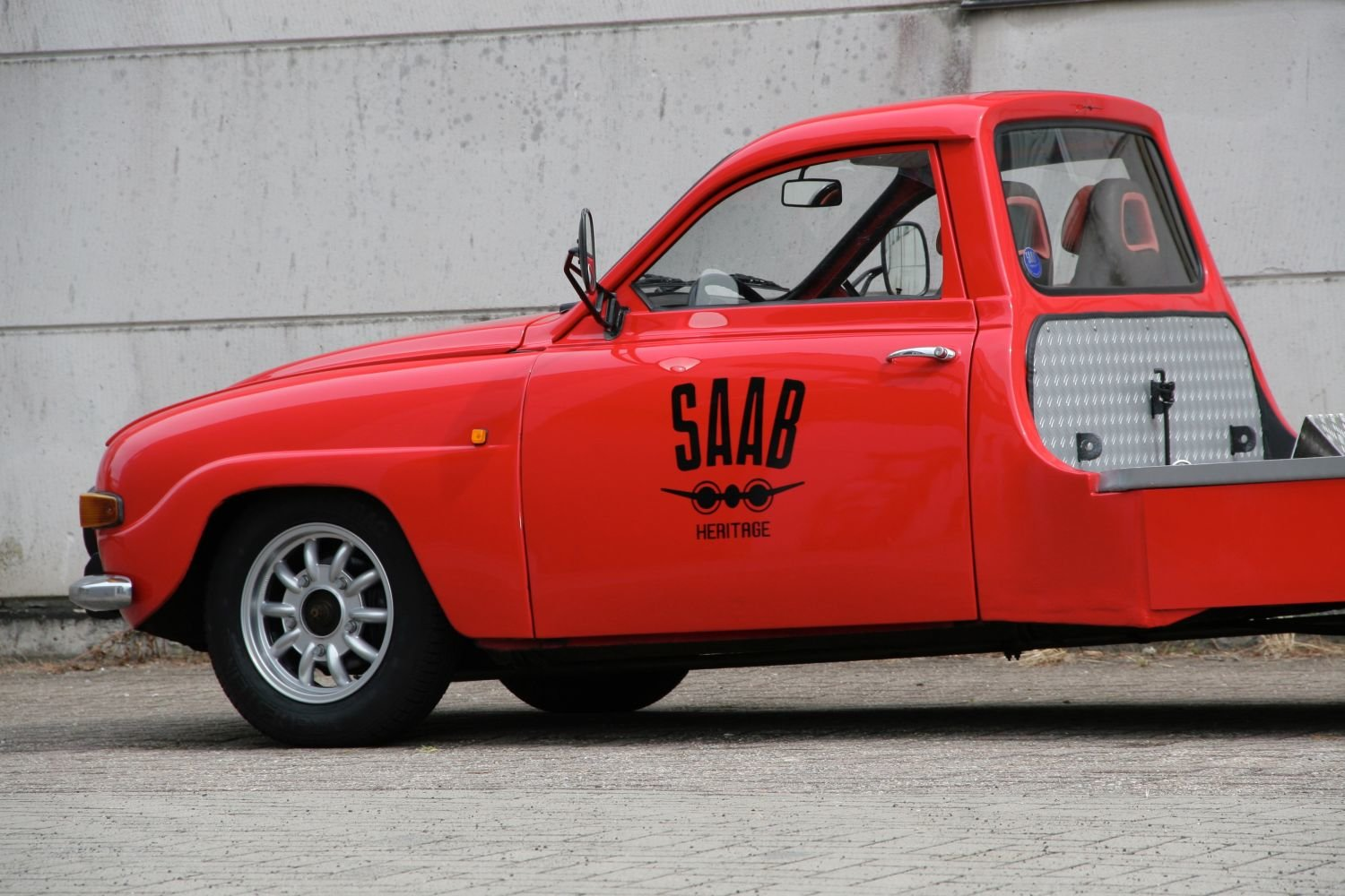 1964 Unique Classic Saab car-transporter (LHD) For Sale (picture 2 of 6)