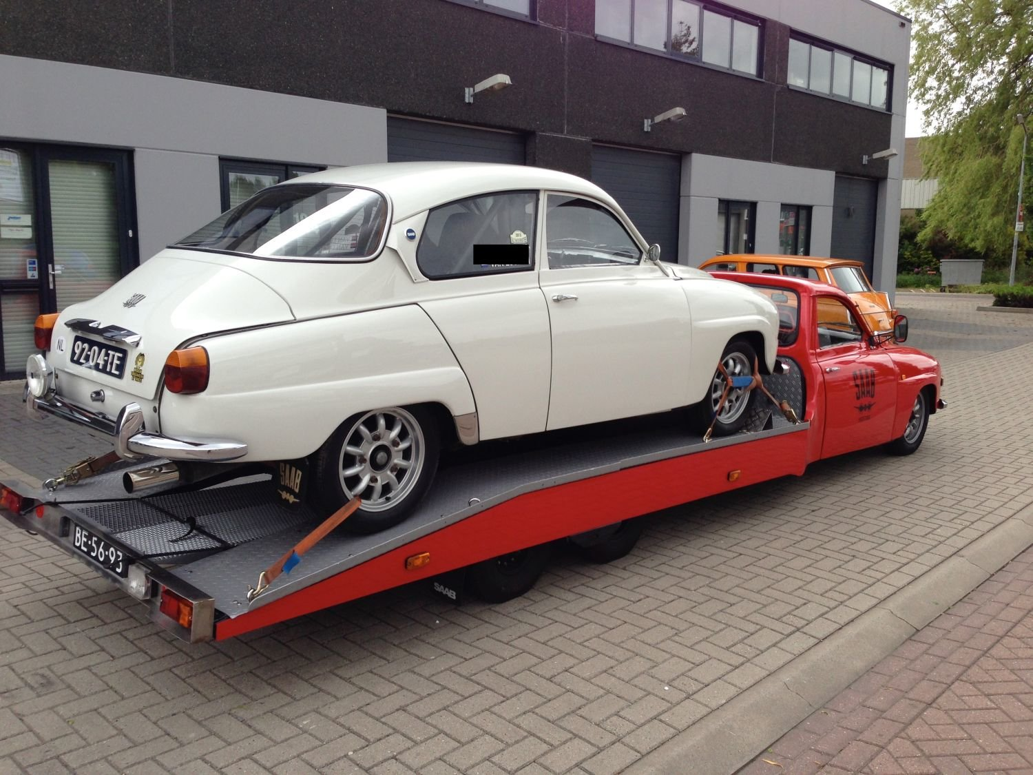 1964 Unique Classic Saab car-transporter (LHD) For Sale (picture 4 of 6)