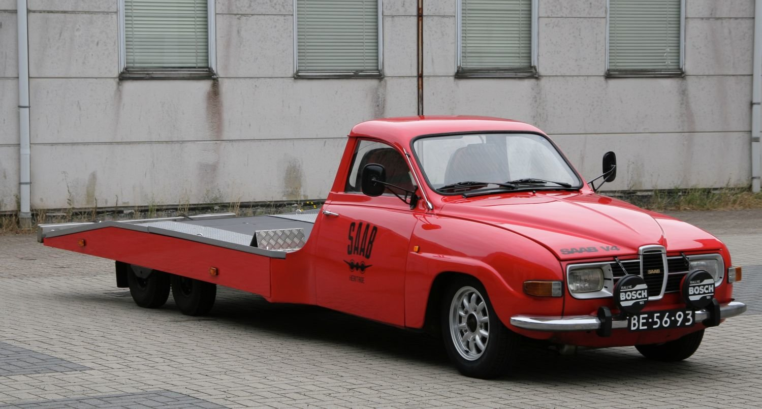 1964 Unique Classic Saab car-transporter (LHD) For Sale (picture 5 of 6)