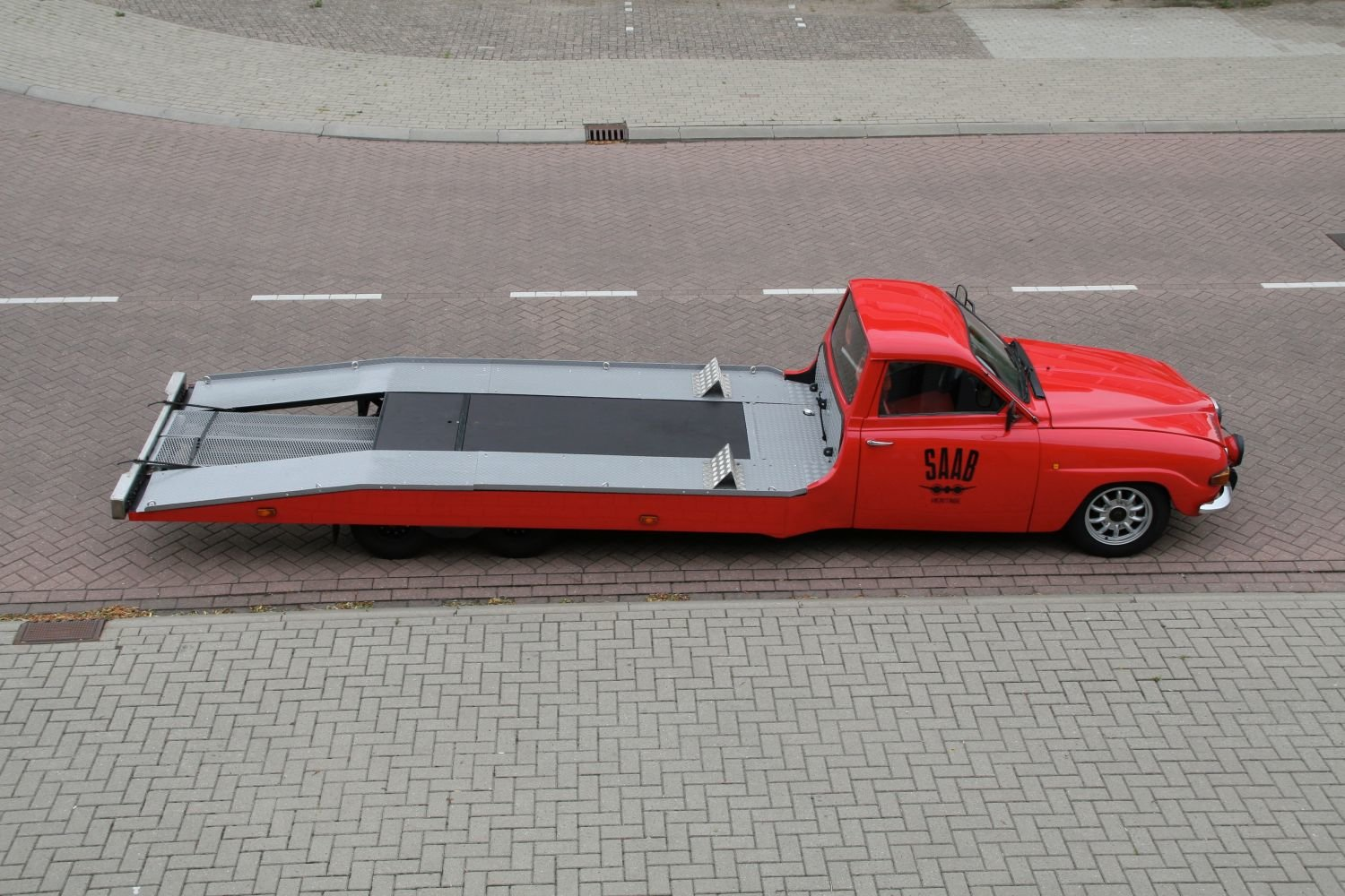 1964 Unique Classic Saab car-transporter (LHD) For Sale (picture 6 of 6)