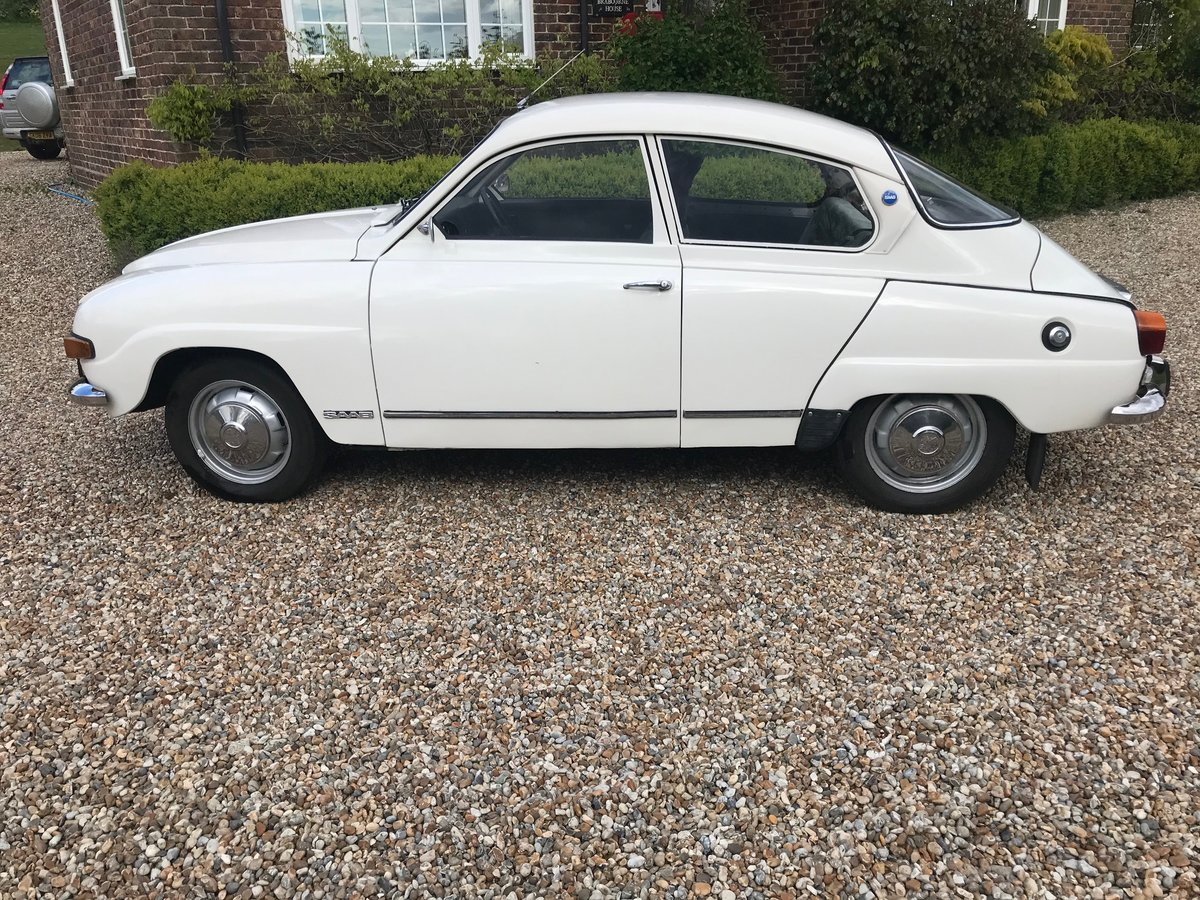 1973 Saab 96 V4 for Auction 16th-17th July SOLD by Auction (picture 1 of 5)