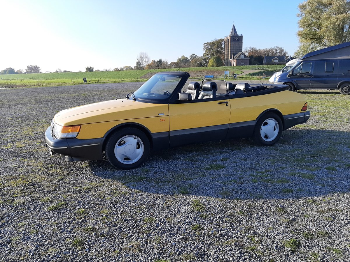Saab 900 turbo 16S convert 1992 Monte Carlo yellow new motor For Sale (picture 2 of 6)