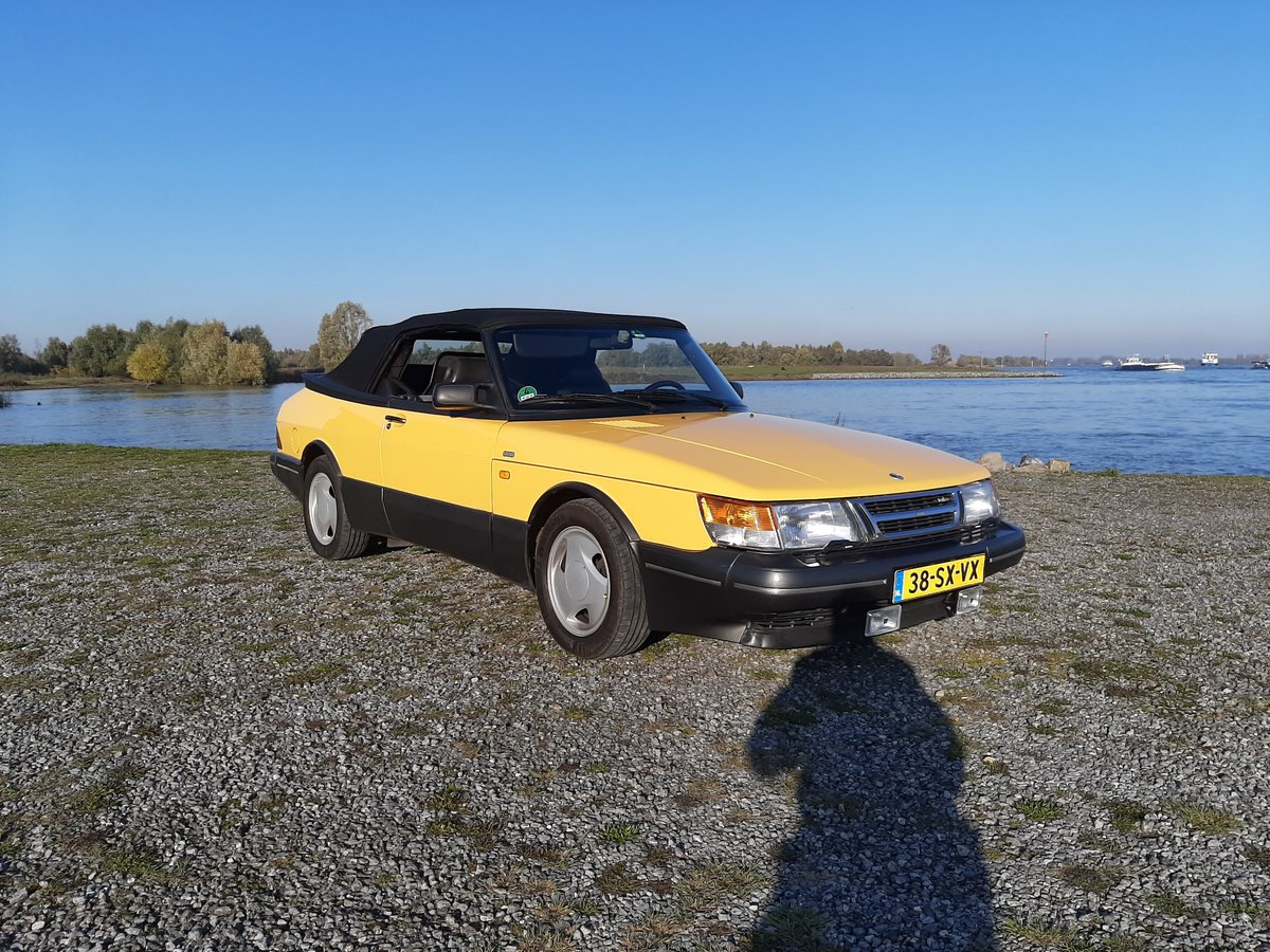 Saab 900 turbo 16S convert 1992 Monte Carlo yellow new motor For Sale (picture 3 of 6)