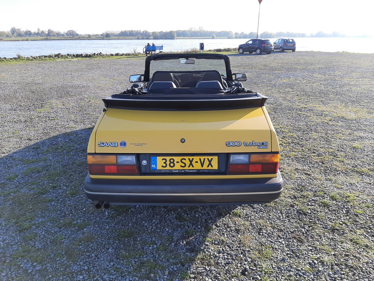 Saab 900 turbo 16S convert 1992 Monte Carlo yellow new motor For Sale (picture 5 of 6)