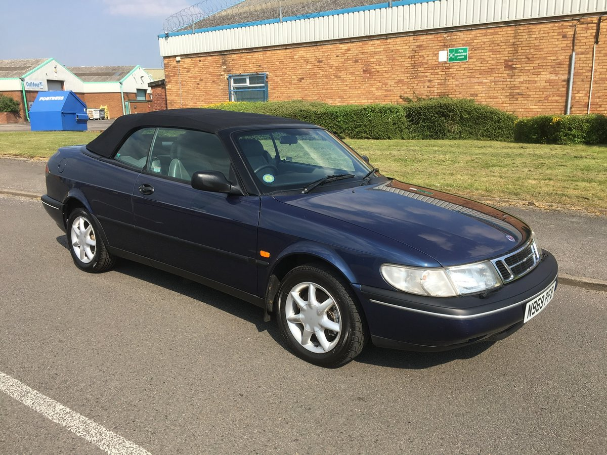 1995,58k,Saab 900, Lovely Car, FSH For Sale (picture 1 of 6)