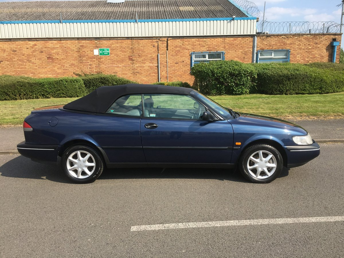 1995,58k,Saab 900, Lovely Car, FSH For Sale (picture 3 of 6)