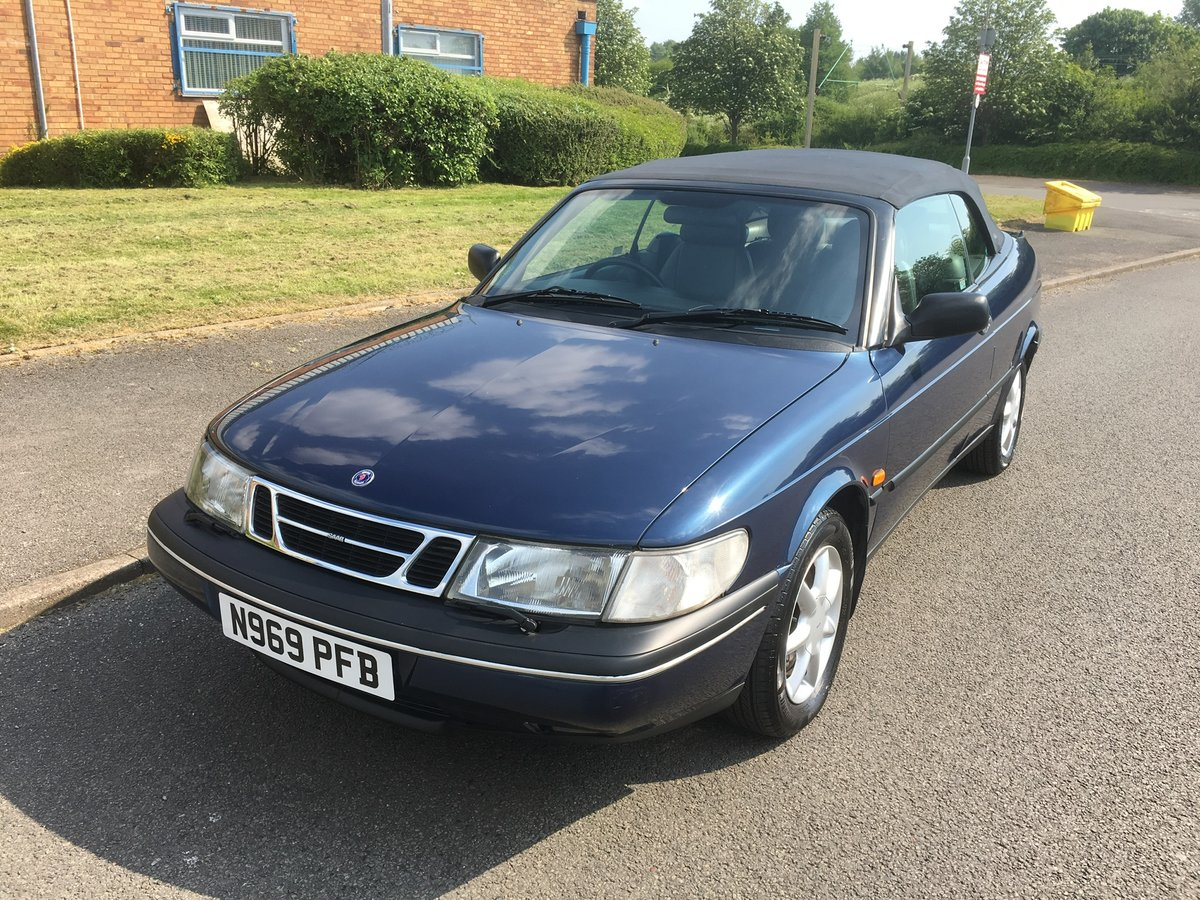 1995,58k,Saab 900, Lovely Car, FSH For Sale (picture 6 of 6)