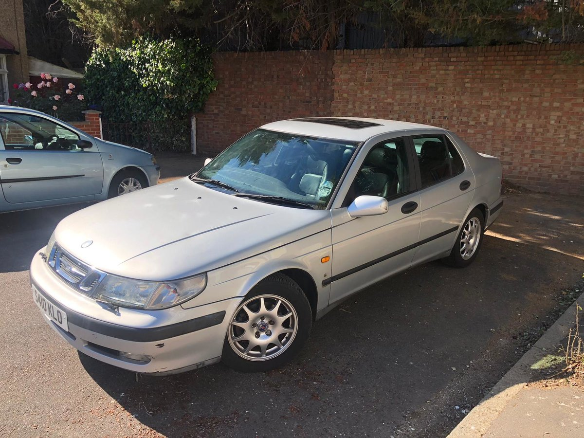 1998 Saab 9-5 se auto - modern classic For Sale (picture 2 of 6)