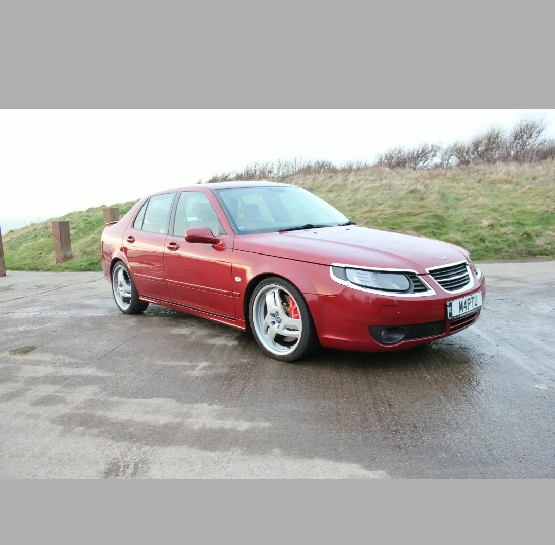 2006 Saab 9 5 Aero Saloon Chilli Red 79k Amazing Sold Car And Classic