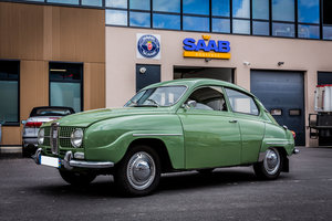 1965 Saab 96 two stroke engine