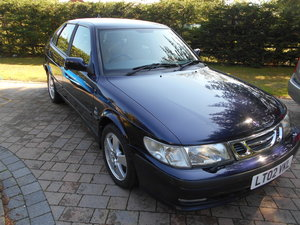 2002 Ultra Low Mileage Saab DEPOSIT TAKEN SORRY