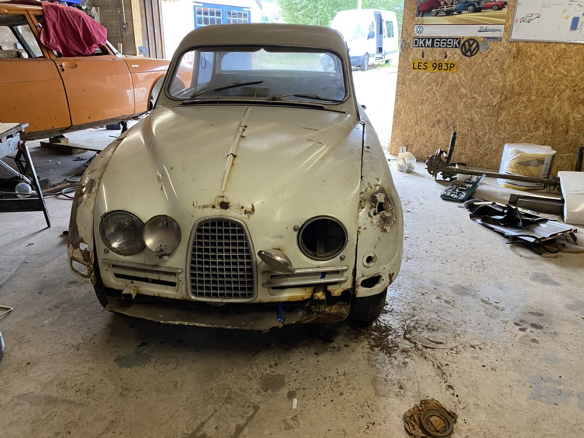 1962 SAAB 96 BULLNOSE 2 STROKE For Sale (picture 1 of 6)