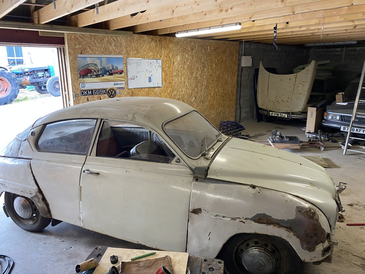 1962 SAAB 96 BULLNOSE 2 STROKE For Sale (picture 3 of 6)