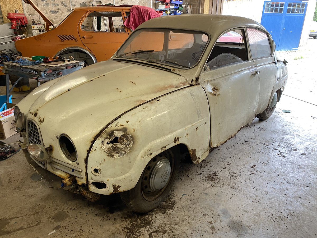 1962 SAAB 96 BULLNOSE 2 STROKE For Sale (picture 4 of 6)