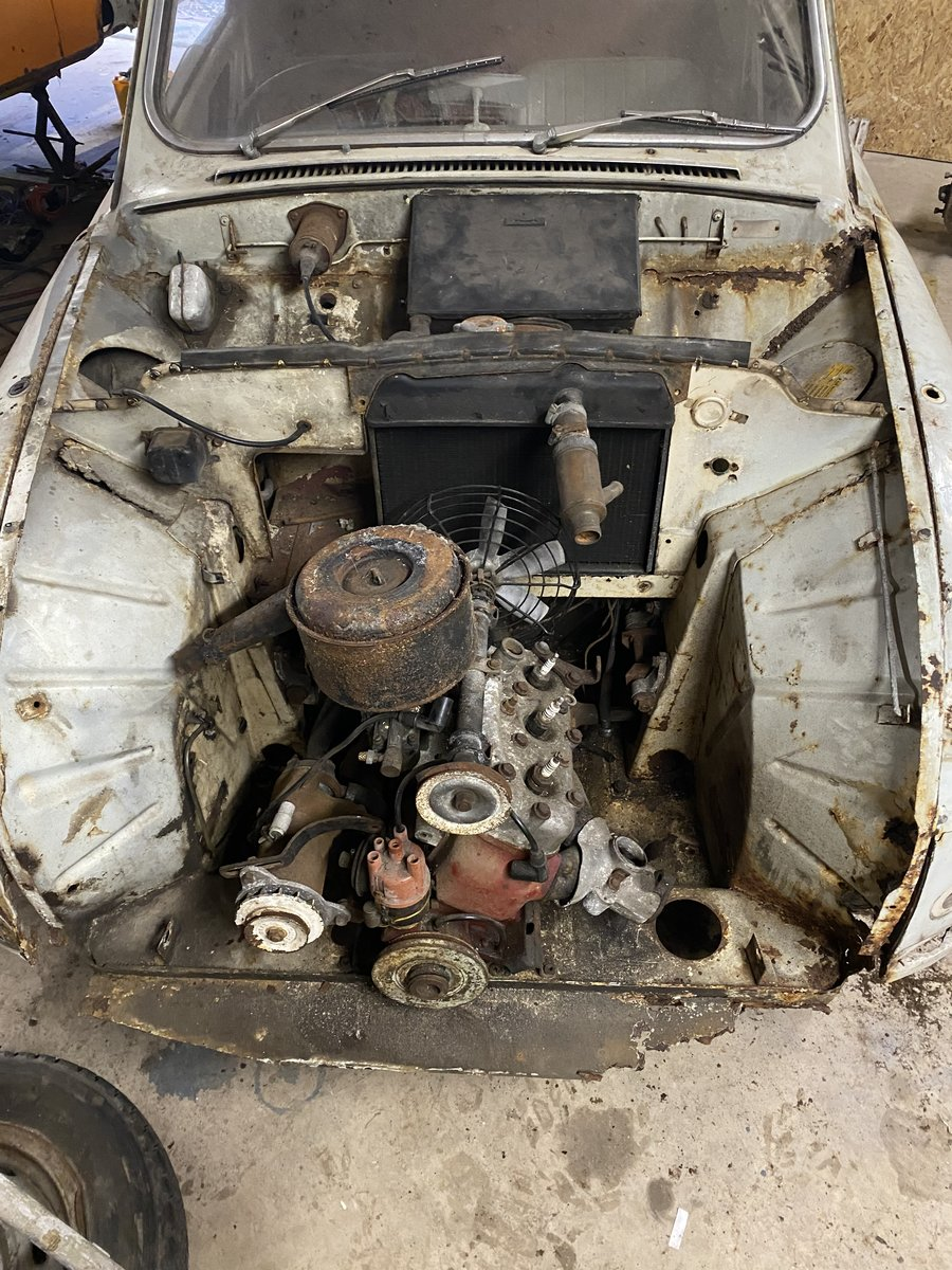 1962 SAAB 96 BULLNOSE 2 STROKE For Sale (picture 5 of 6)