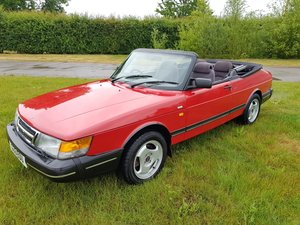 Picture of 1990 Saab 900i 16v Convertible 87k miles - immaculate For Sale
