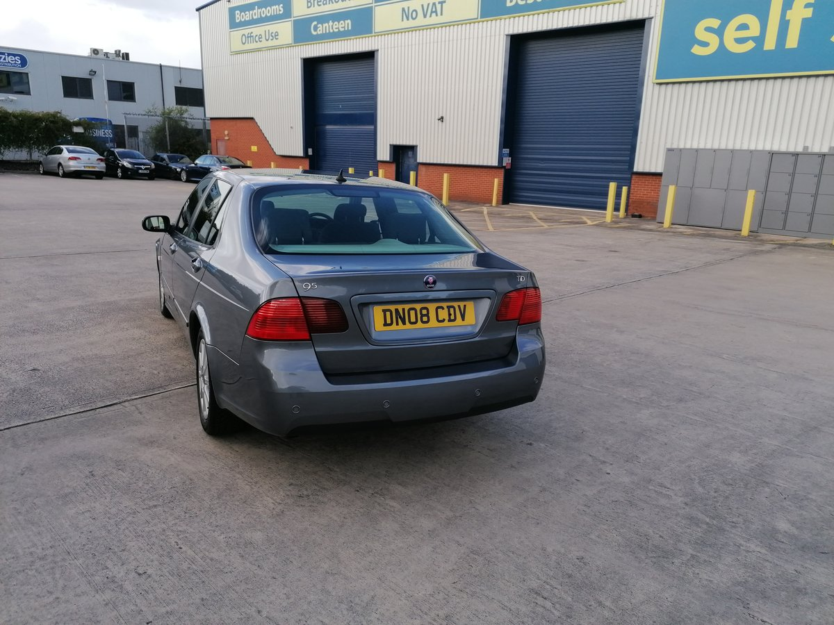 2008 SAAB 9-5 1.9 TID SALOON For Sale (picture 1 of 6)