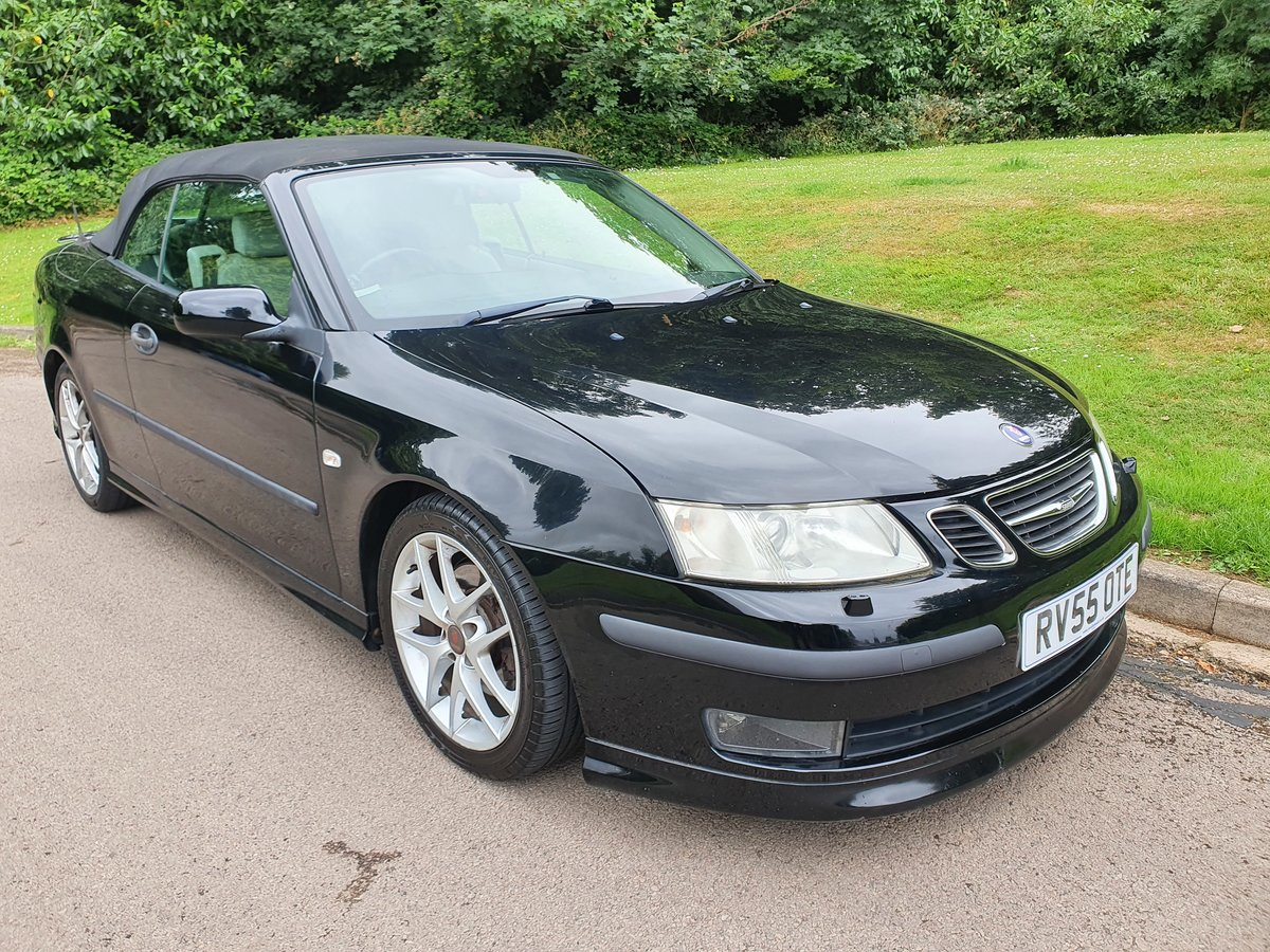 2005 Saab 9-3 Turbo.. 210 BHP Aero Convertible.. Low Miles.. FSH SOLD (picture 2 of 6)