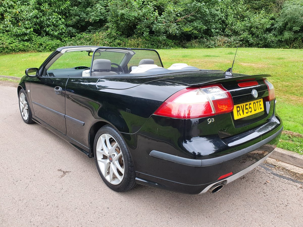 2005 Saab 9-3 Turbo.. 210 BHP Aero Convertible.. Low Miles.. FSH SOLD (picture 5 of 6)