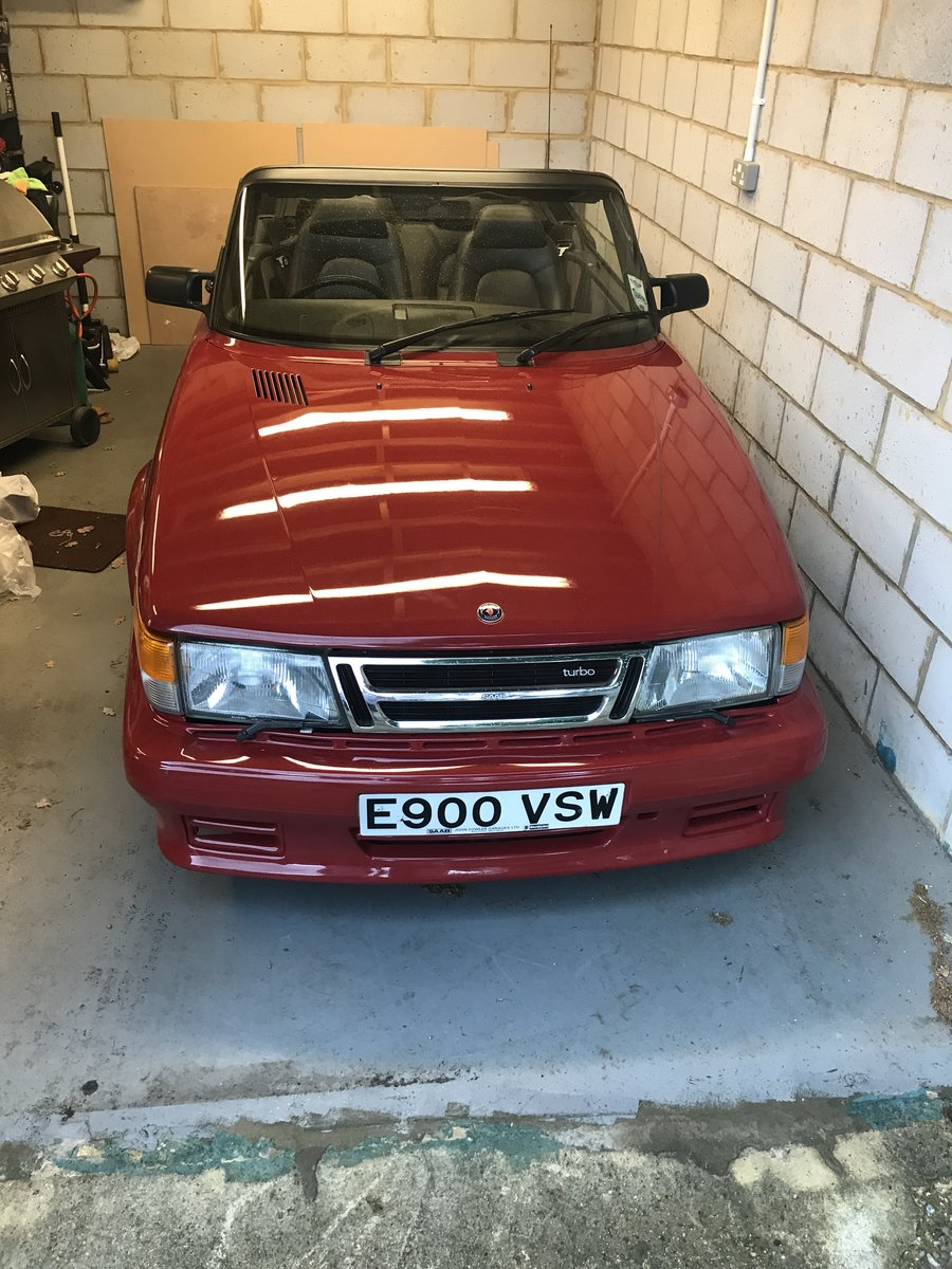 1987 Saab 900 Cabriolet For Sale (picture 1 of 6)