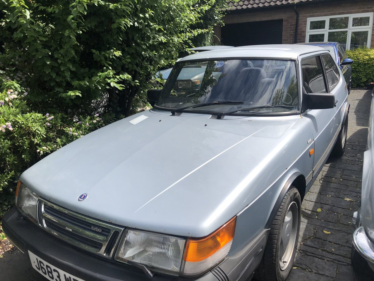 1991 Saab 900 Turbo S For Sale (picture 1 of 2)