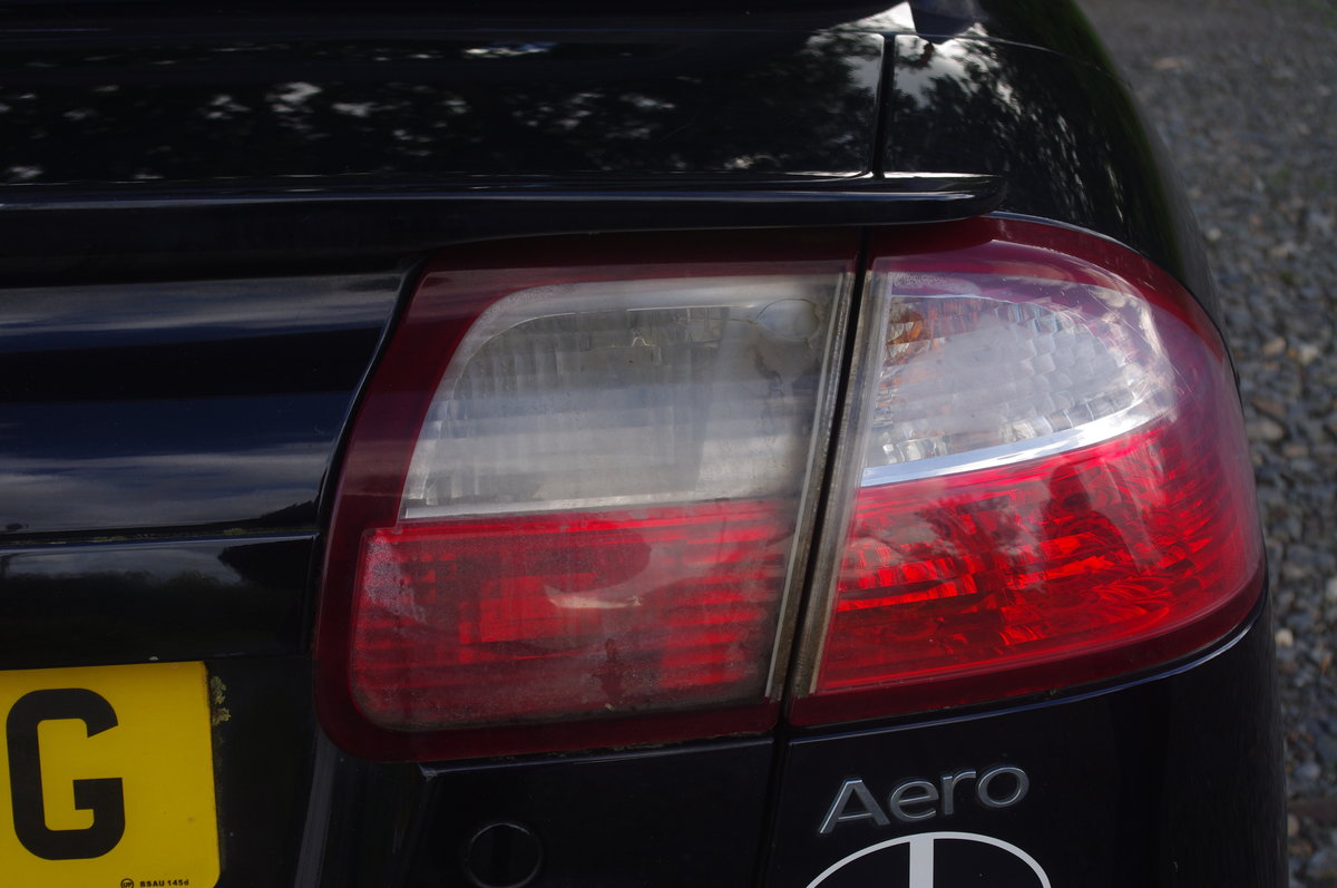 2005  Saab Aero 93 turbo convertible, black For Sale (picture 5 of 6)