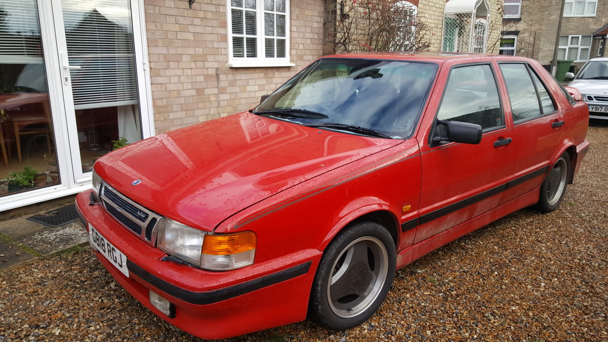 1990 Rare SAAB 2Ltr Carlsson 5 Door SOLD (picture 1 of 6)