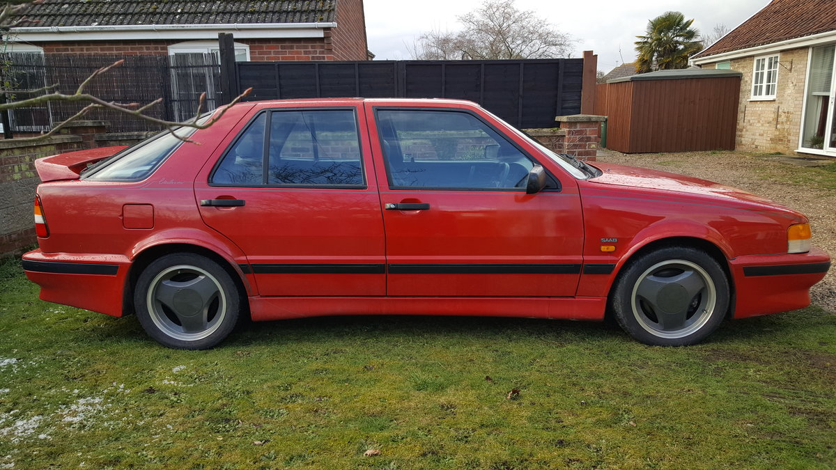 1990 Rare SAAB 2Ltr Carlsson 5 Door SOLD (picture 2 of 6)