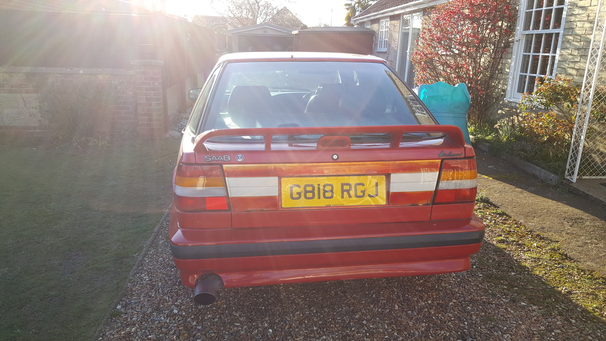 1990 Rare SAAB 2Ltr Carlsson 5 Door SOLD (picture 4 of 6)