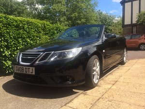 2008 Saab 9-3 2.0 T Vector 2dr convertible 1 owner FSH
