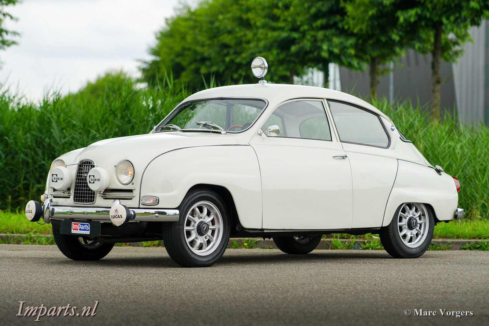 1964 Excellent classic Saab 96 Bull Nose TT (LHD) For Sale (picture 1 of 6)