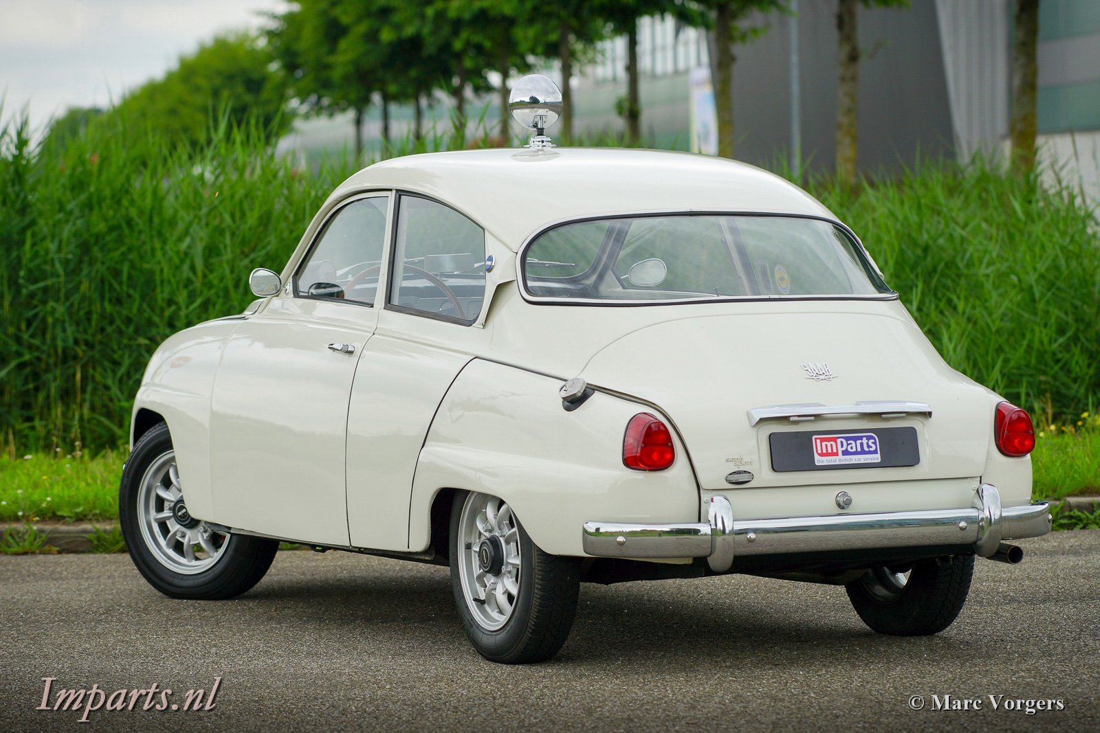 1964 Excellent classic Saab 96 Bull Nose TT (LHD) For Sale (picture 5 of 6)
