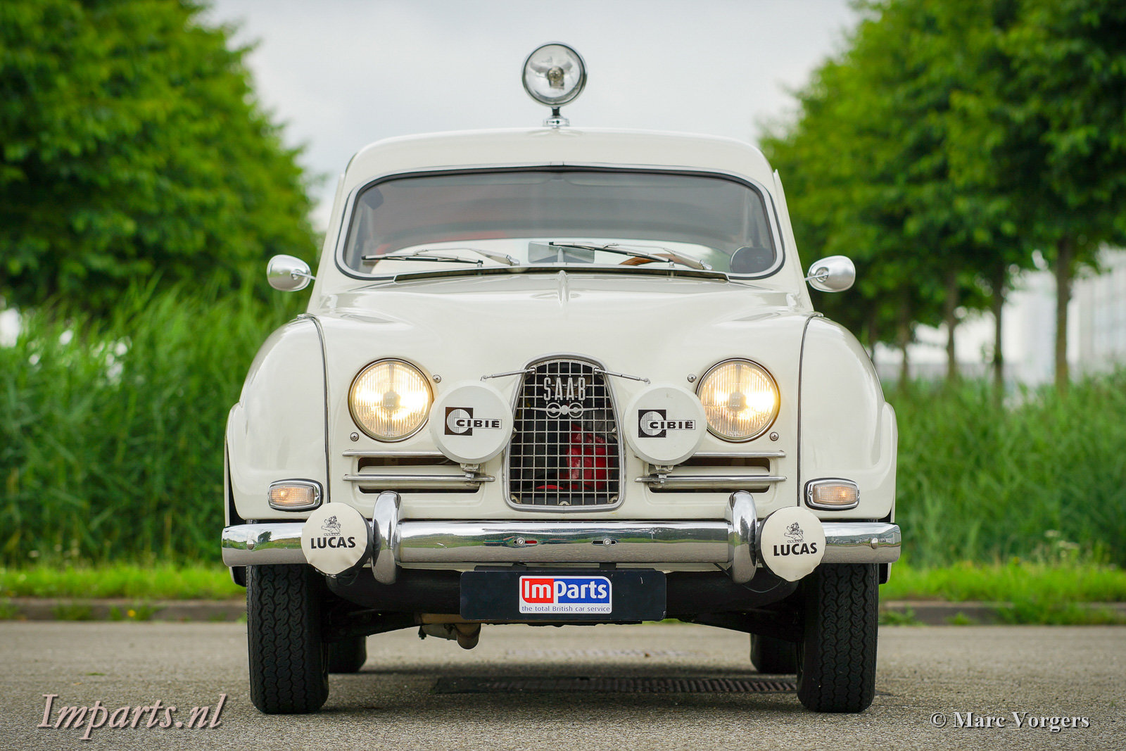 1964 Excellent classic Saab 96 Bull Nose TT (LHD) For Sale (picture 6 of 6)