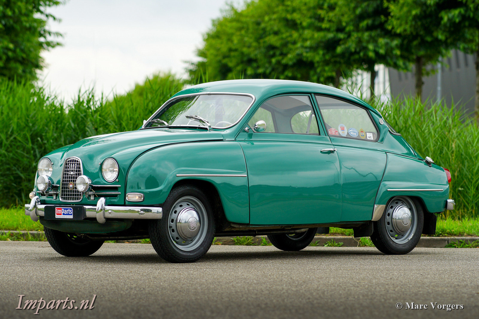 1963 Very good classic Saab 96 Bull Nose TT (LHD) For Sale (picture 1 of 6)