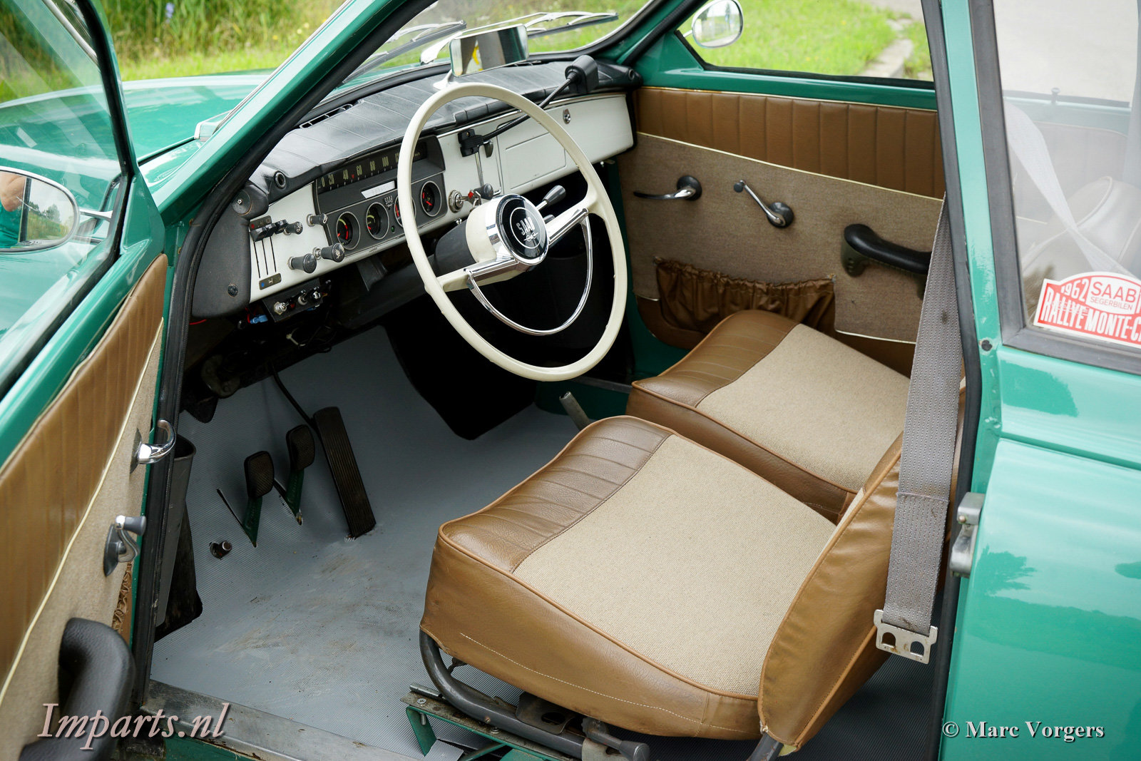 1963 Very good classic Saab 96 Bull Nose TT (LHD) For Sale (picture 2 of 6)