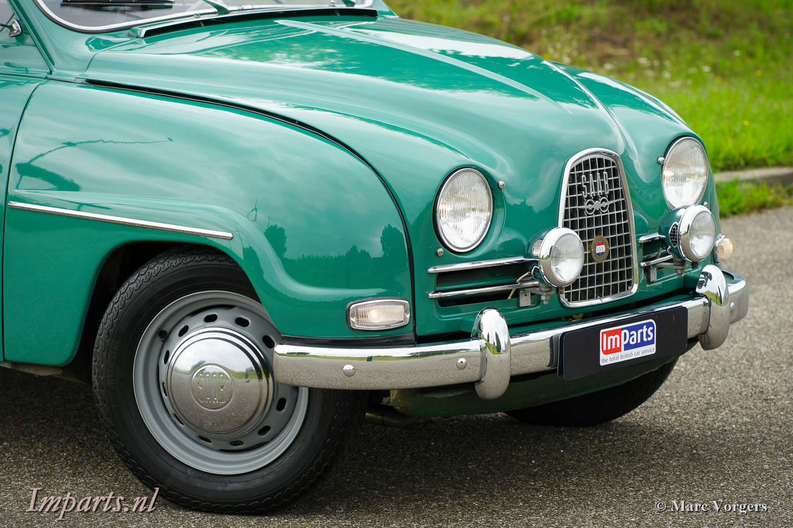 1963 Very good classic Saab 96 Bull Nose TT (LHD) For Sale (picture 4 of 6)
