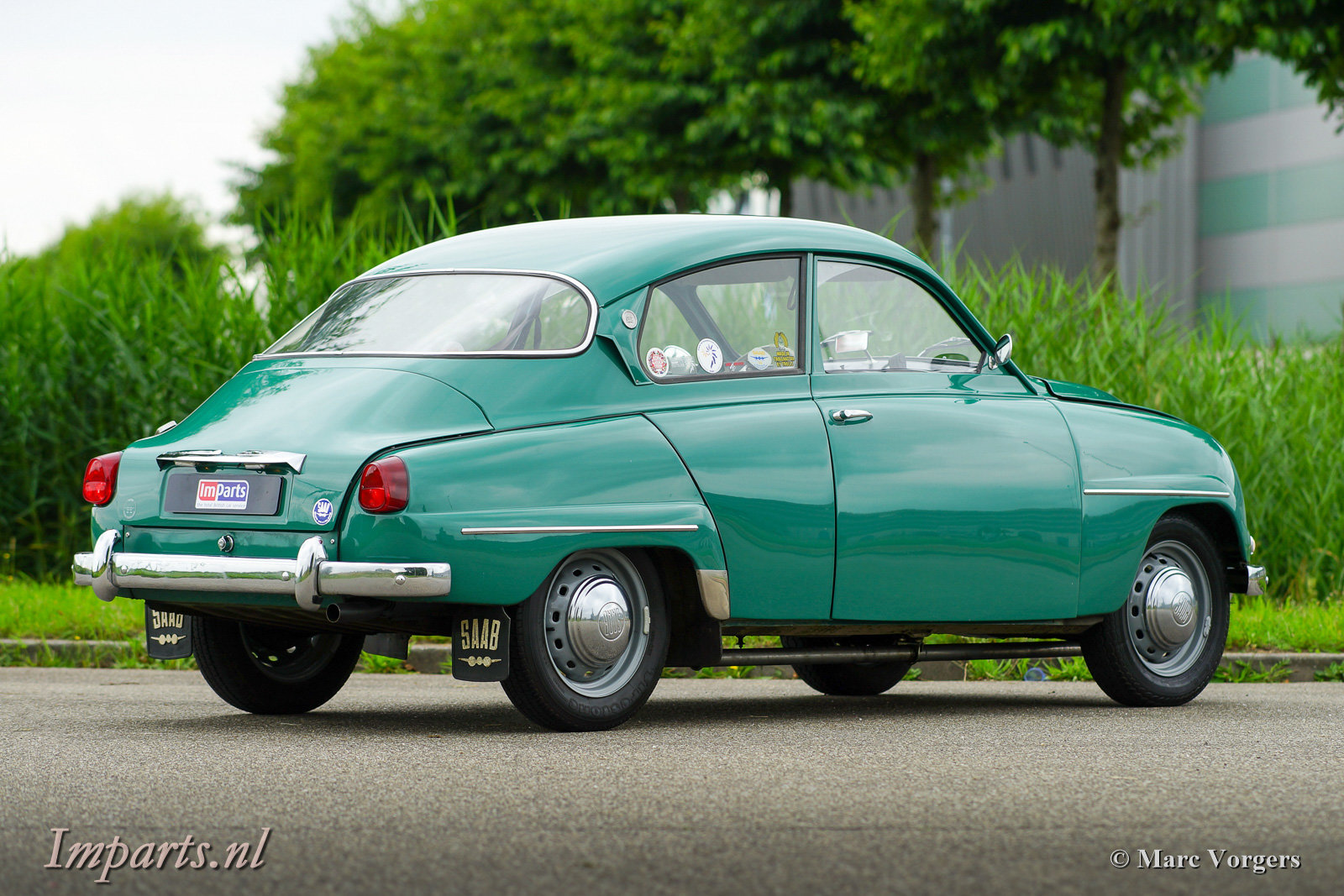 1963 Very good classic Saab 96 Bull Nose TT (LHD) For Sale (picture 5 of 6)