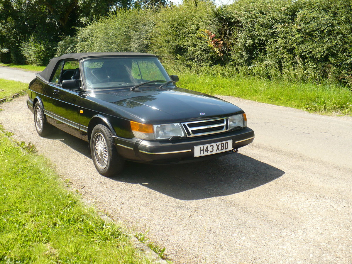 saab 900 i auto cabriolet 1990 For Sale (picture 2 of 6)