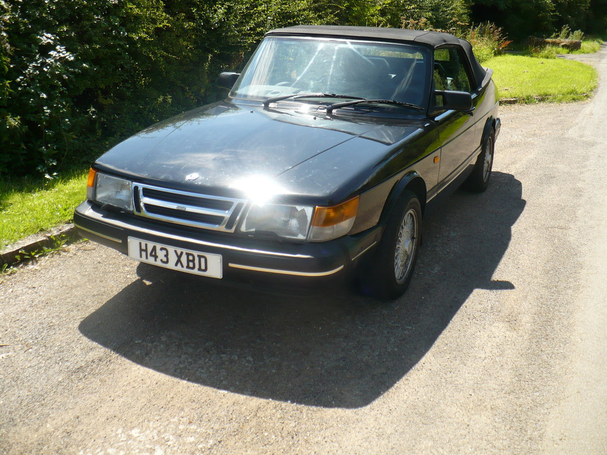 saab 900 i auto cabriolet 1990 For Sale (picture 4 of 6)