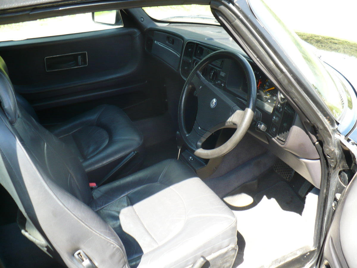 saab 900 i auto cabriolet 1990 For Sale (picture 6 of 6)