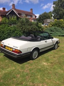 1987 Beautiful Convertible Saab 900 Turbo