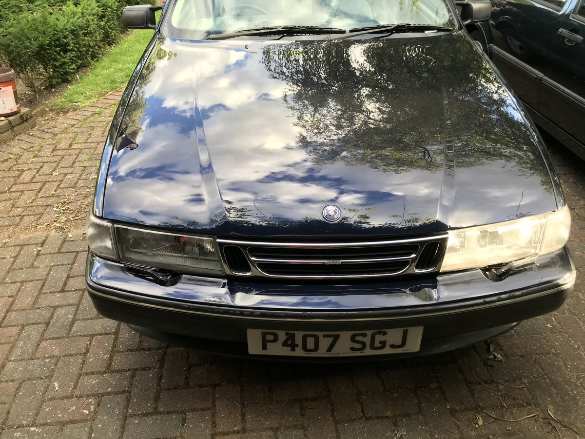 Saab 9000 CSE 2.0 turbo LPT Manual; 1996 For Sale (picture 2 of 6)