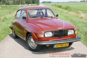 1976 Saab 96L V4 Original Dutch car