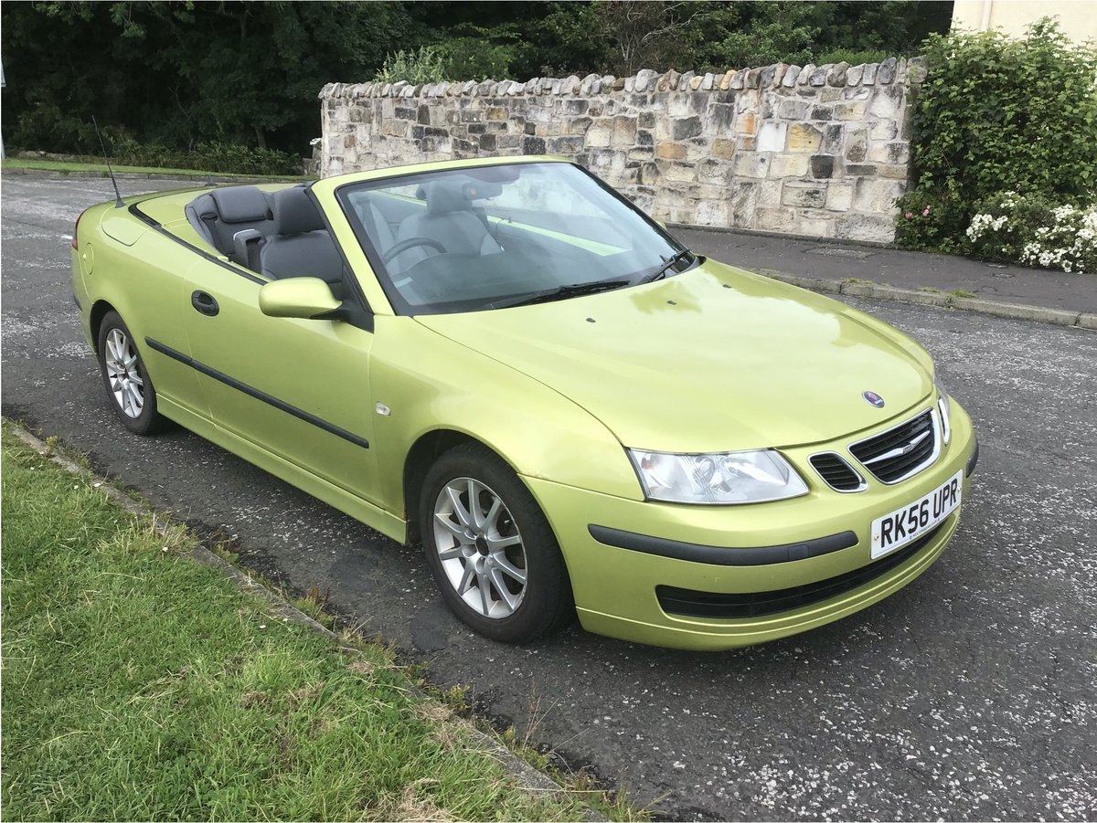 2006 Saab 93 DIESEL Convertible.  Part ex available. For Sale (picture 1 of 6)