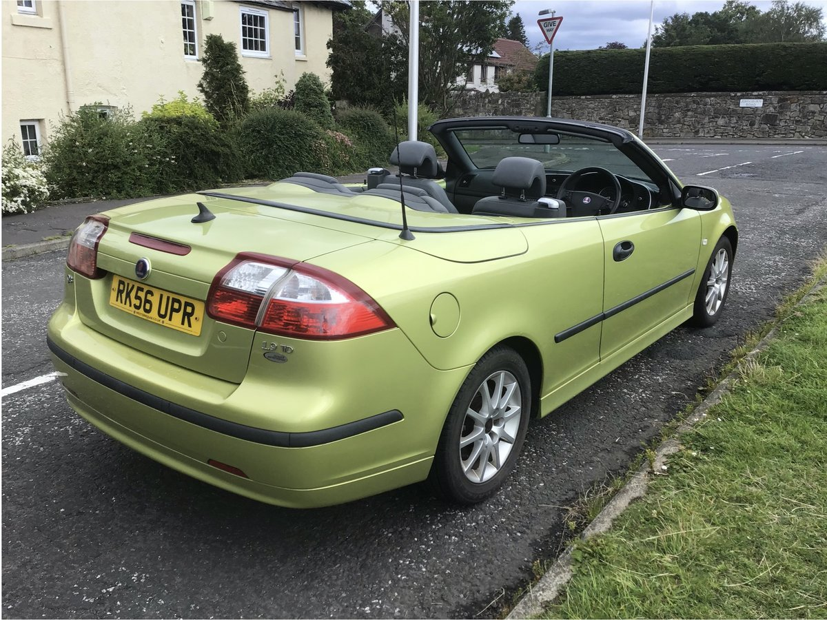 2006 Saab 93 DIESEL Convertible.  Part ex available. For Sale (picture 2 of 6)