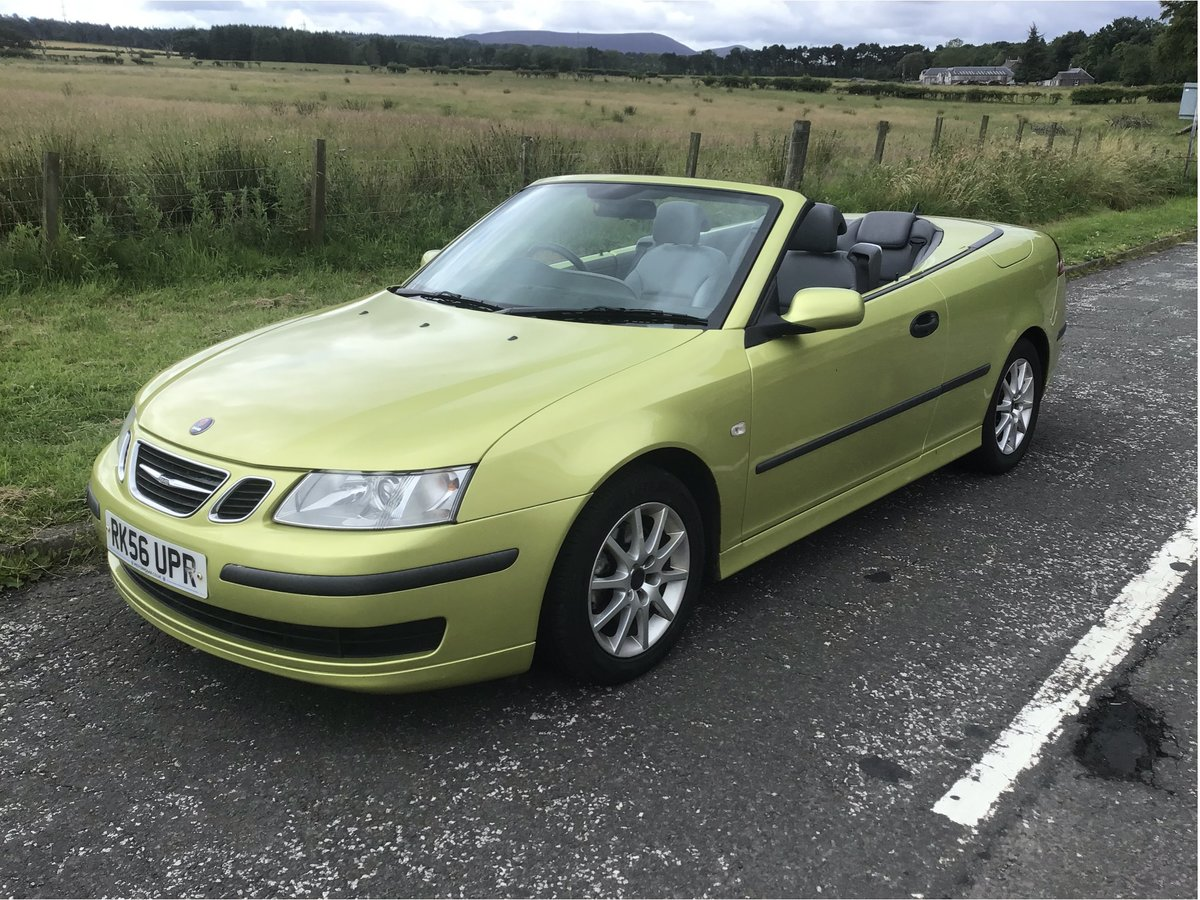 2006 Saab 93 DIESEL Convertible.  Part ex available. For Sale (picture 3 of 6)