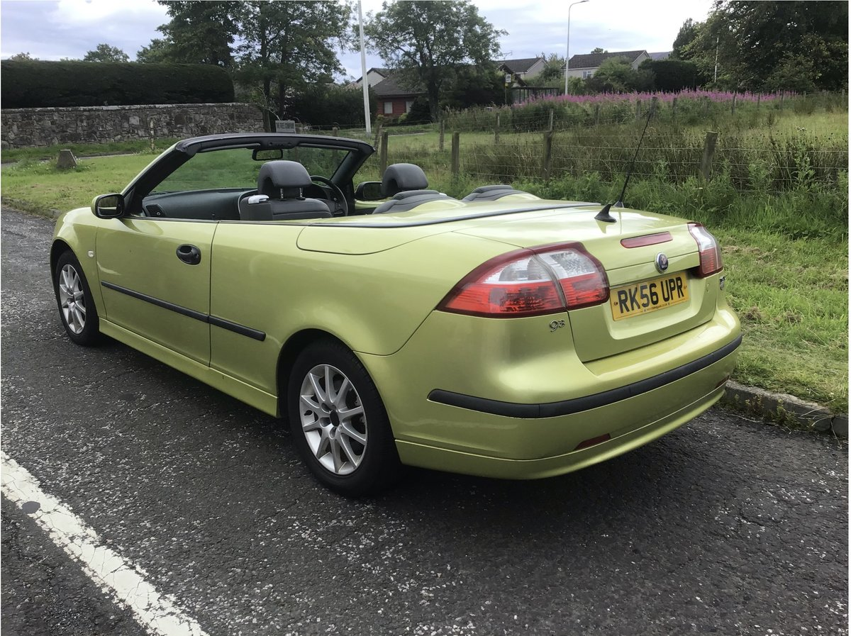 2006 Saab 93 DIESEL Convertible.  Part ex available. For Sale (picture 4 of 6)