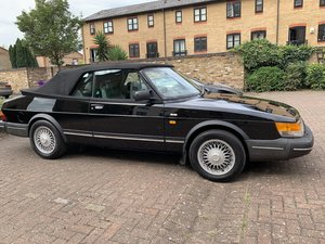 1992 Classic Saab 900i convertible in superb condition
