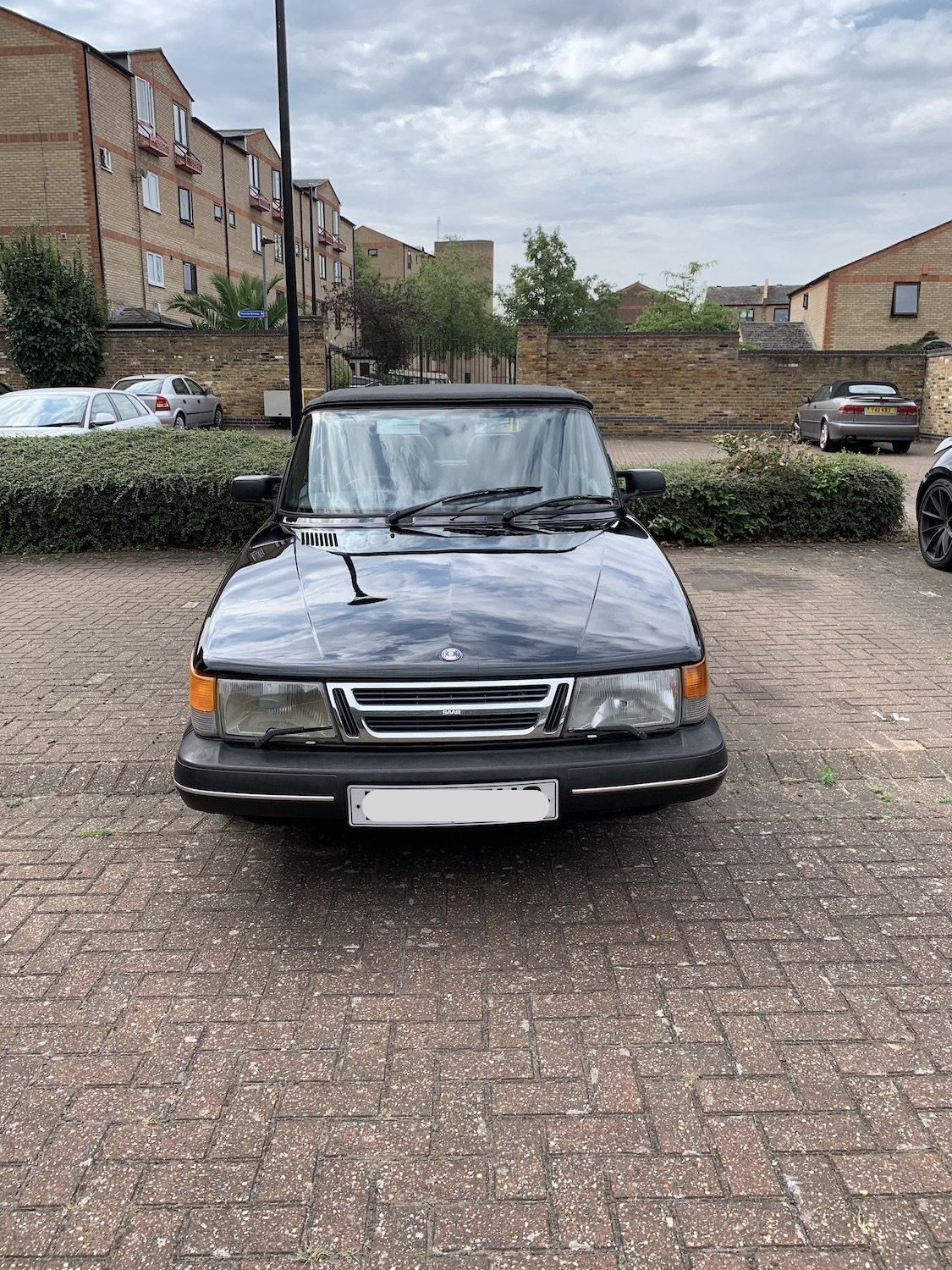 1992 Classic Saab 900i convertible in superb condition For Sale (picture 3 of 6)